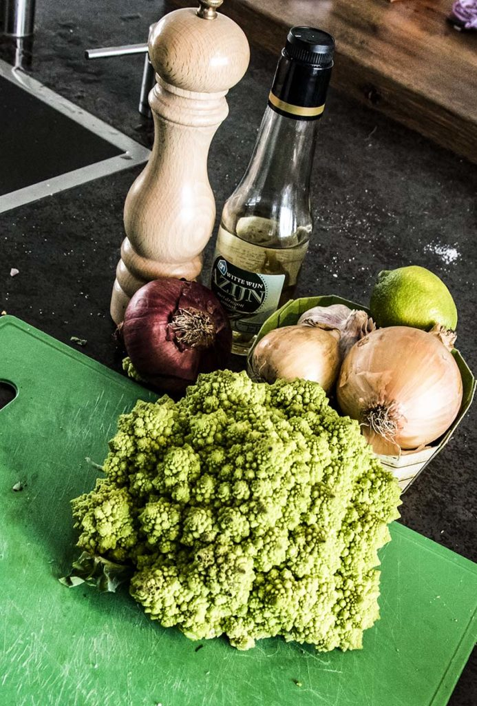 groente voor op de bbq