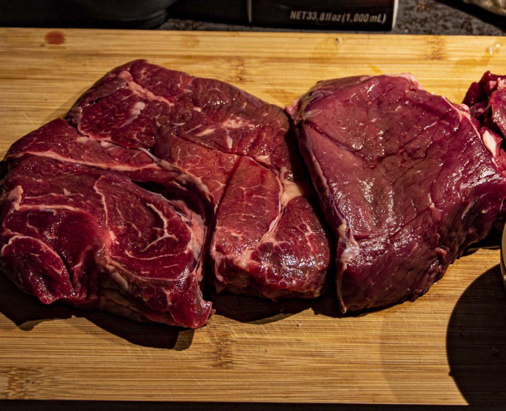Beef rendang bbq vlees