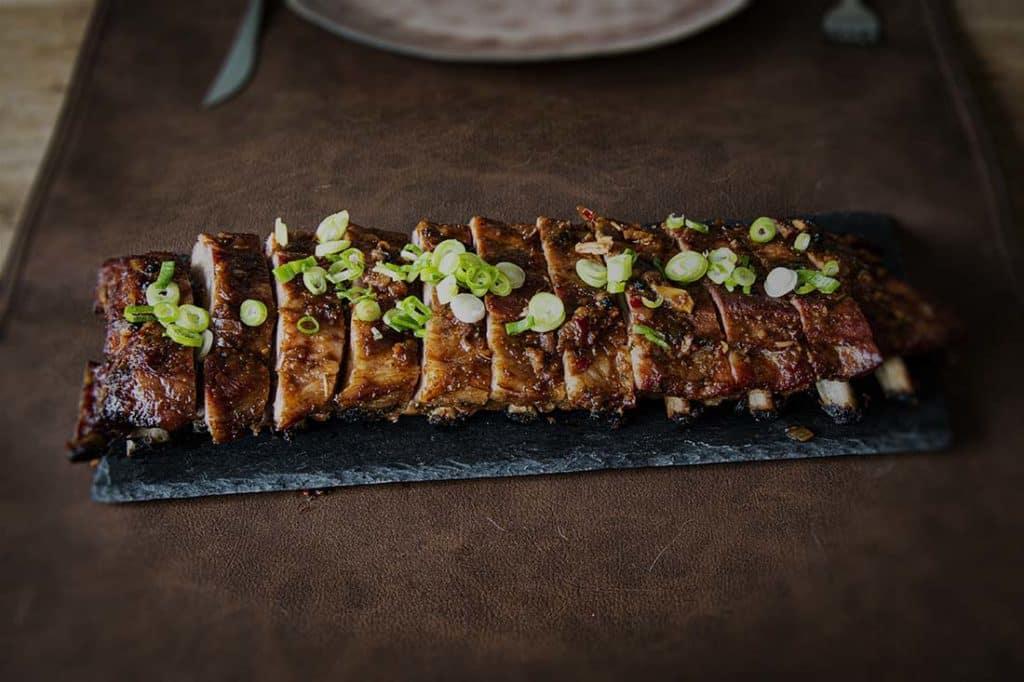 Asian Style Spare ribs 3-2-1 Met zelfgemaakte Teriyaki