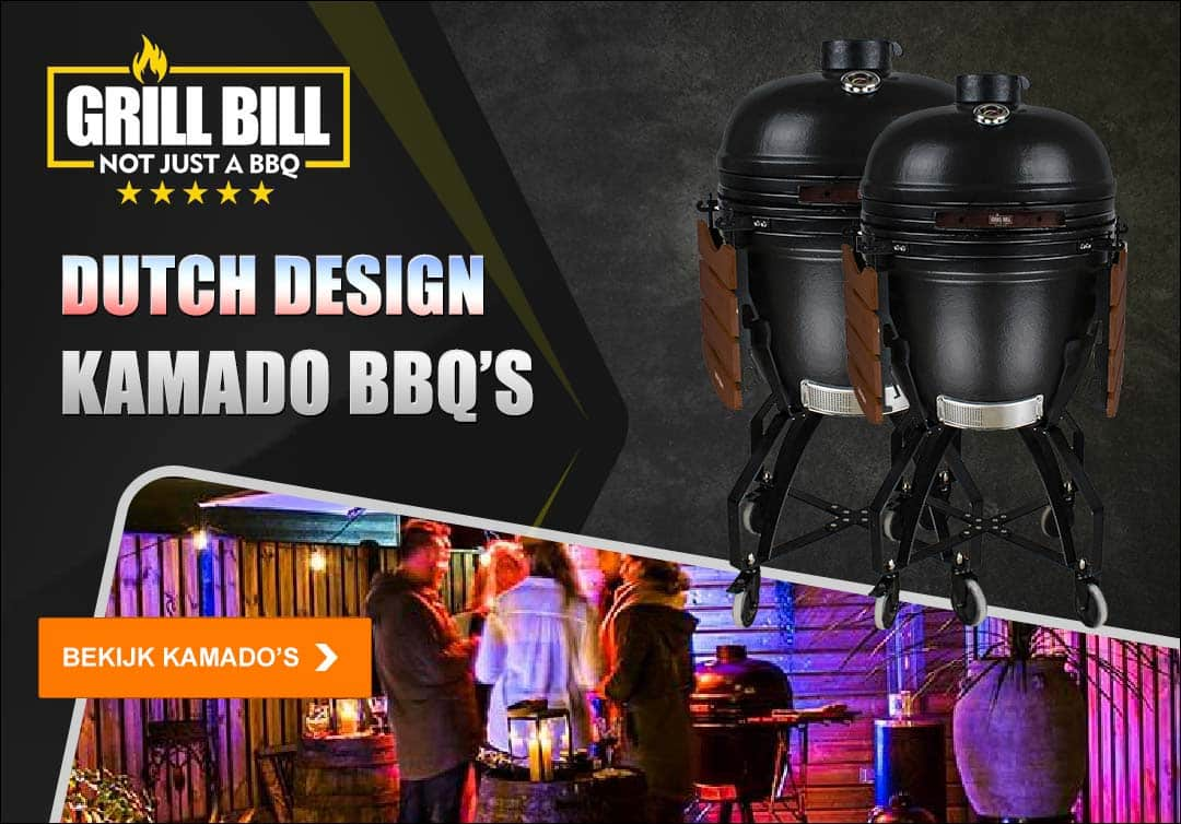 grill bill kamado bbq advertentie